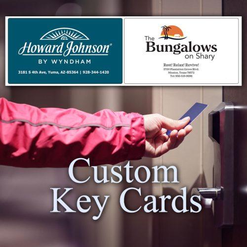 Custom Key Cards